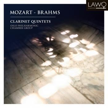 Cover Mozart & Brahms (Clarinet Quintets)