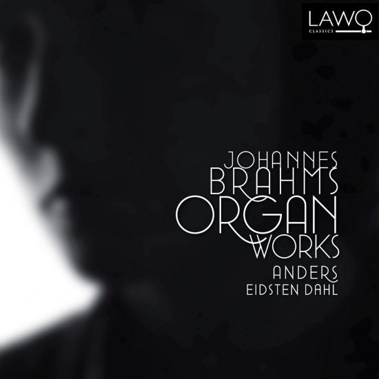 Cover Johannes Brahms Organ Works