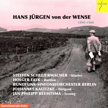 Cover Hans Jürgen von der Wense