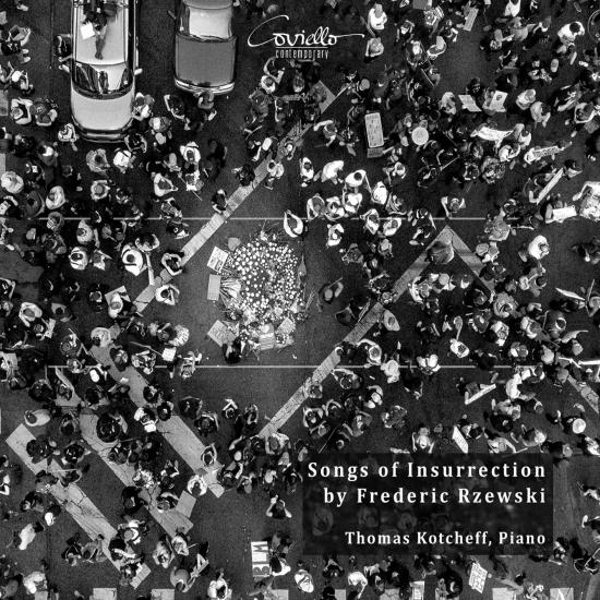 Cover Frederic Rzewski: Songs of Insurrection