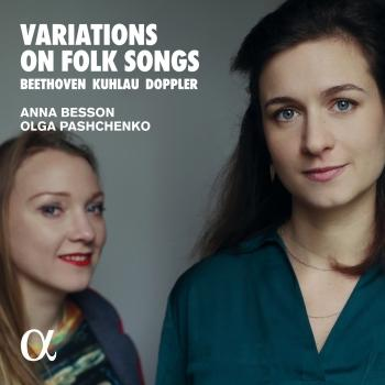 Cover Variations on Folk Songs - Beethoven, Kuhlau & Doppler