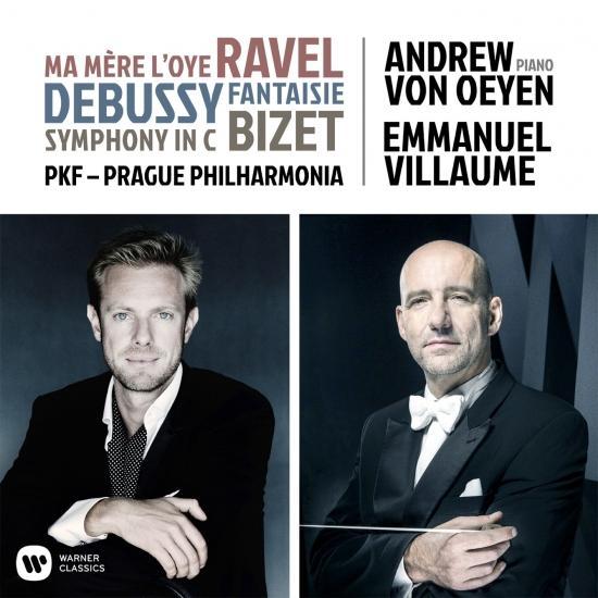 Cover Ravel, Debussy & Bizet: Orchestral Works