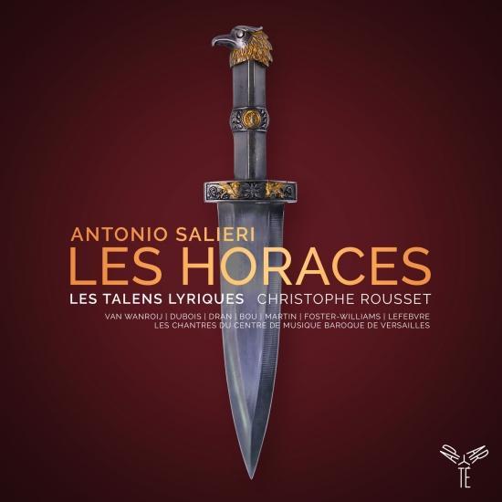 Cover Antonio Salieri: Les Horaces