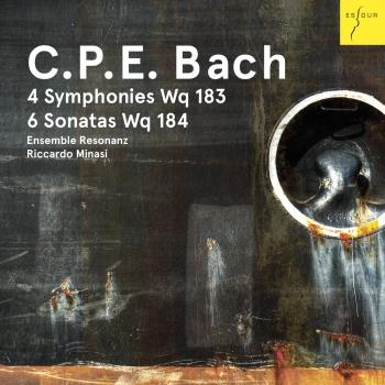 Cover C. P. E. Bach: 4 Sinfonien Wq 183, 6 Sonaten Wq 184