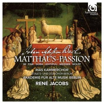 Cover J.S. Bach: St Matthew Passion, BWV 244 (Matthäus-Passion)