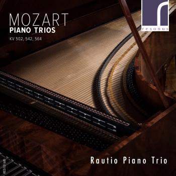 Cover Mozart Piano Trios KV 502, 542, 564