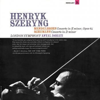 Cover Mendelssohn: Violin Concerto / Schumann: Violin Concerto (Remastered)