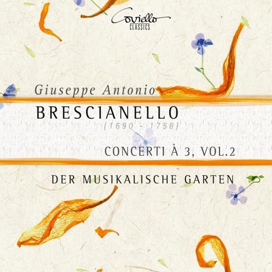 Cover Brescianello: Concerti à 3, Vol. 2