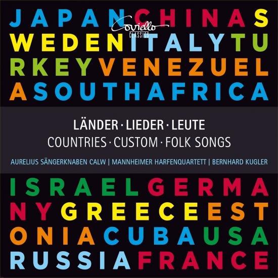 Cover Länder, Lieder, Leute - Countries, Custom, Folk Songs