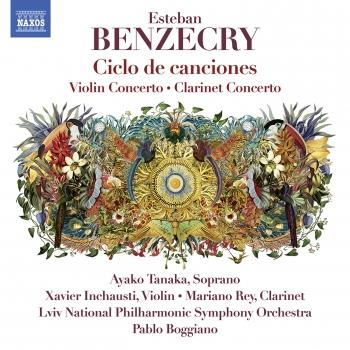 Cover Esteban Benzecry: Orchestral Works