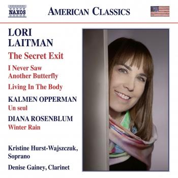 Cover Opperman, Laitman & Rosenblum: Works for Voice & Clarinet