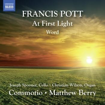 Cover Francis Pott: At First Light & Word