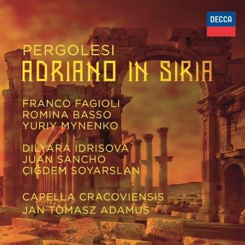 Cover Pergolesi: Adriano in Siria