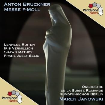 Cover Bruckner: Messe F-moll