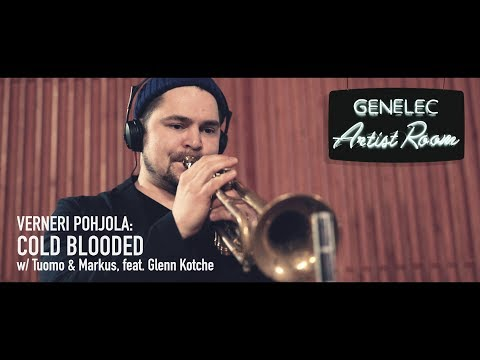 Video Verneri Pohjola - Cold Blooded, w/Tuomo & Markus, featuring Glenn Kotche