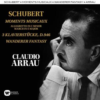 Cover Schubert: Moments Musicaux, Klavierstücke, Wanderer Fantasy