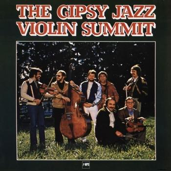 Cover The Gipsy Jazz Violin Summit