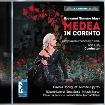 Cover Mayr: Medea in Corinto