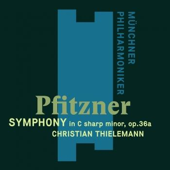 Cover Pfitzner: Symhpony in C-Sharp Minor