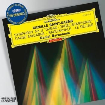 Cover Saint-Saëns: Symphony No.3 & Organ & Bacchanale from & Samson et Dalila & Prélude from & Le Déluge & Danse macabre