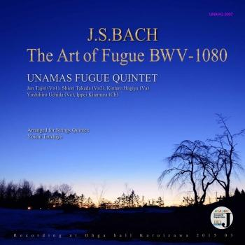 Cover The Art of Fugue BWV-1080
