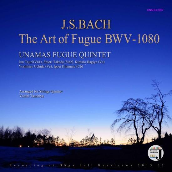 Cover The Art of Fugue BWV-1080