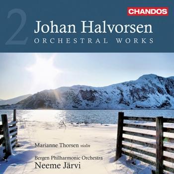 Cover Halvorsen: Orchestral Works, Vol. 2