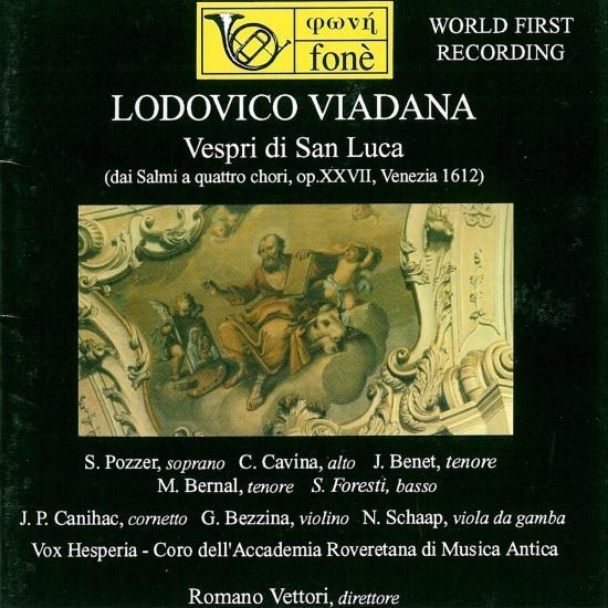 Cover Lodovico Viadana: Vespri Di San Luca (Remastered)