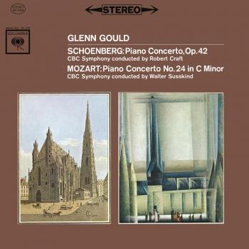 Cover Mozart: Piano Concerto No. 24 in C Minor, K. 491 / Schoenberg: Piano Concerto, Op. 42 (Remastered)