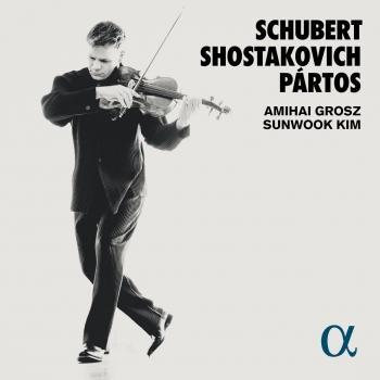 Cover Schubert, Shostakovich & Pártos