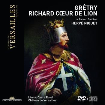 Cover Grétry: Richard Cœur de Lion