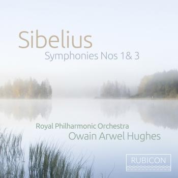 Cover Sibelius: Symphonies Nos. 1 & 3