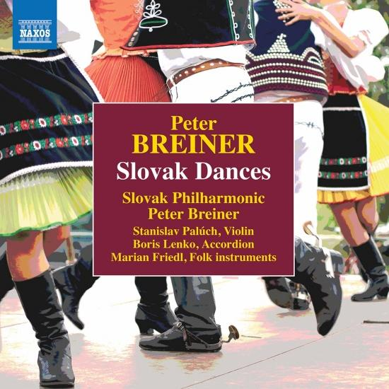 Cover Peter Breiner: Slovak Dances, Naughty & Sad