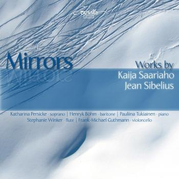 Cover Mirrors: Works by Kaija Saariaho & Jean Sibelius