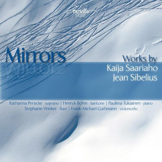 Cover Mirrors: Works by Kaija Saariaho & Jean Sibelius