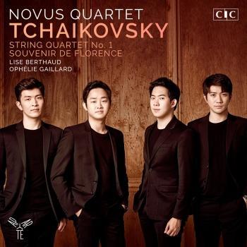 Cover Tchaikovsky: String Quartet & Souvenir de Florence