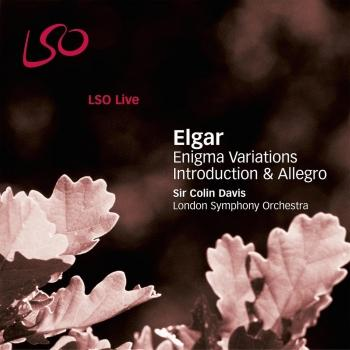 Cover Elgar: Enigma Variations - Introduction & Allegro