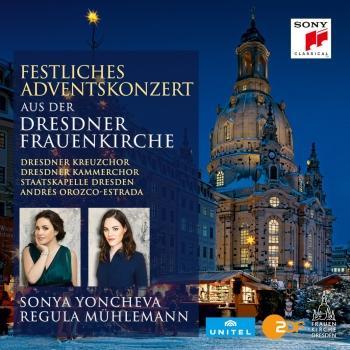 Cover Festliches Adventskonzert 2016 aus der Dresdner Frauenkirche