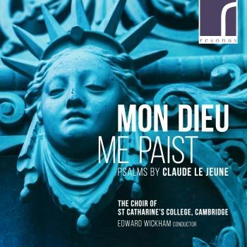 Cover Mon Dieu me paist: Psalms by Claude Le Jeune