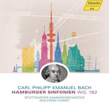 Cover Carl Philipp Emanuel Bach: Hamburger Sinfonien, Wq. 182