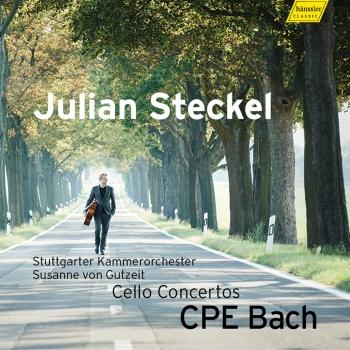 Cover C.P.E. Bach: Cello Concertos