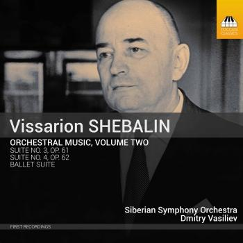 Cover Shebalin: Orchestral Music, Vol. 2