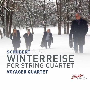 Cover Winterreise, Op. 89, D. 911 (Excerpts Arr. A. Höricht for String Quartet)
