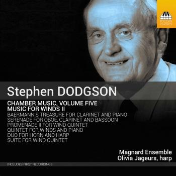Cover Dodgson: Chamber Music, Vol. 5