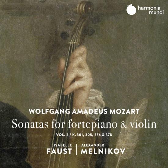 Cover Mozart: Sonatas for Fortepiano & Violin, Vol. 2