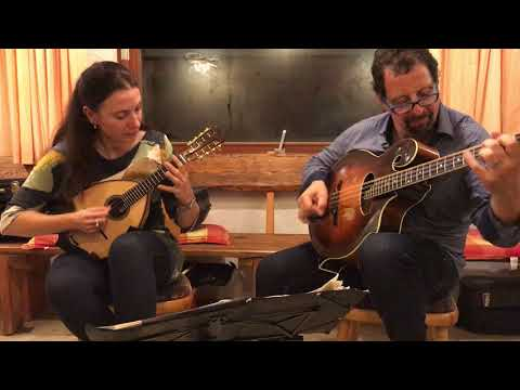 Video Mike Marshall & Caterina Lichtenberg playing 'Elzic's Farewell' in Elmstein
