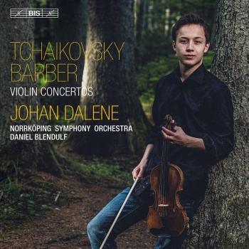 Cover Tchaikovsky & Barber: Violin Concertos