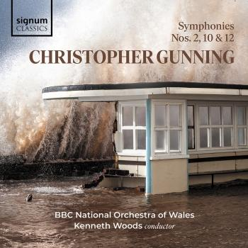 Cover Christopher Gunning: Symphonies 2, 10 & 12