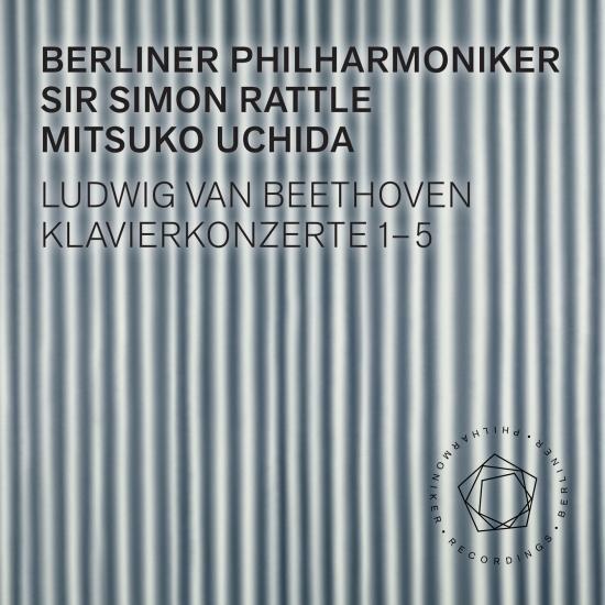 Cover Beethoven: Piano Concertos 1-5