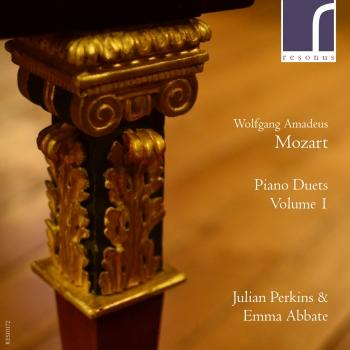 Cover Mozart: Piano Duets Volume I.